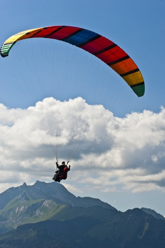 paragliding-in-morzine