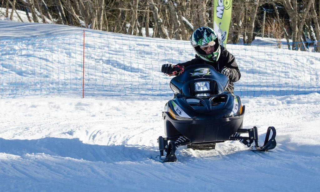 eco friendly snowmobile adventures for kids this winter morzine