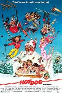 Hot dog ski movie
