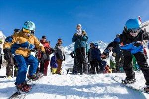 Rock on ski and board test avoriaz