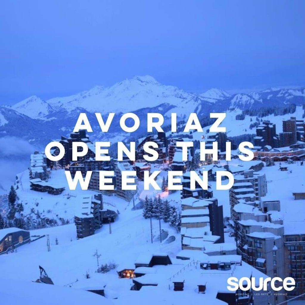 Early Season Lift Openings in the Portes du Soleil Morzine Source