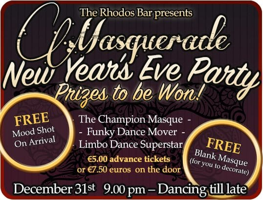 New Year S Eve Masquerade Party 31 12 2017 Morzine