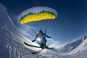 Speed flying Morzine Avoriaz