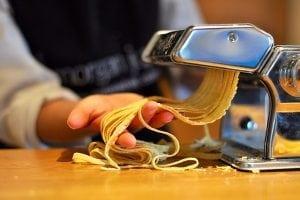 Home made pasta Morgan Jupe Morzine