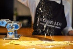 Morgane Jupe Morzine homemade pasta