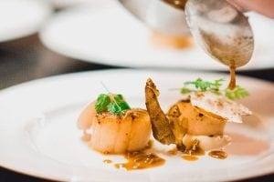 Scallops by Morgan Jupe Morzine