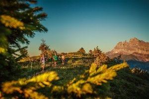Sylvian cochard trail running Morzine