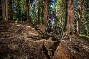 Mountain biking Morzine Sylvain Cochard
