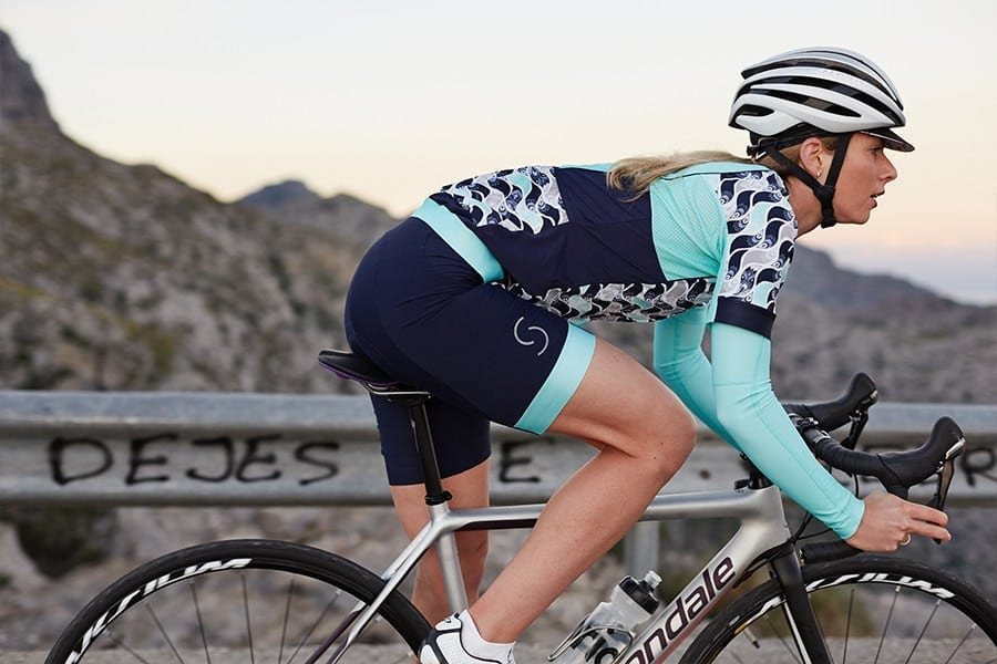 Kandesent women's road cycling clothing