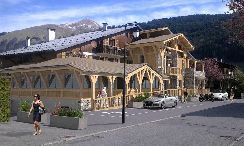 Hotel Alpen Roc LaClusaz France