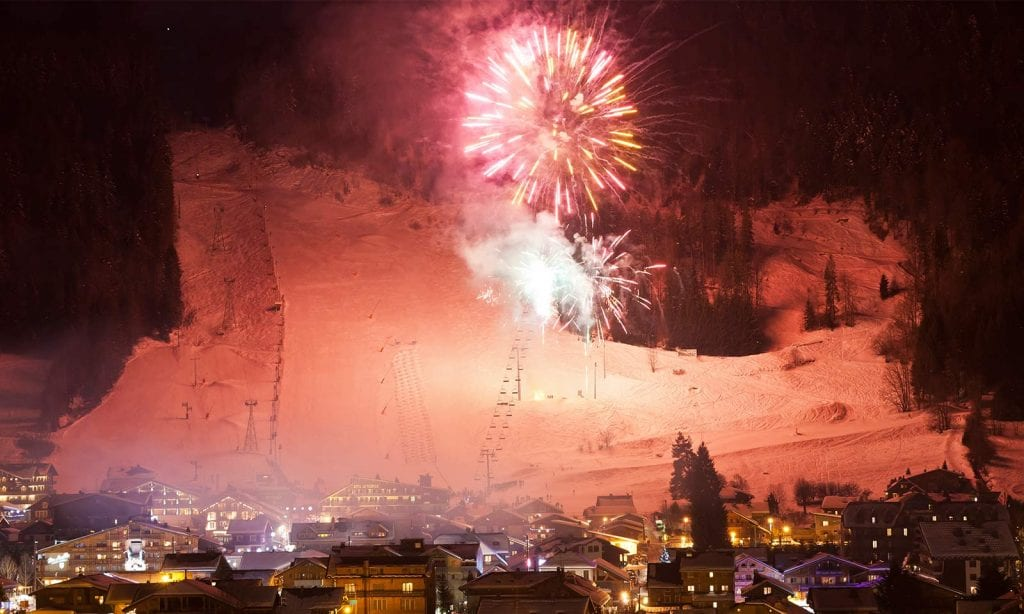New years eve in morzine