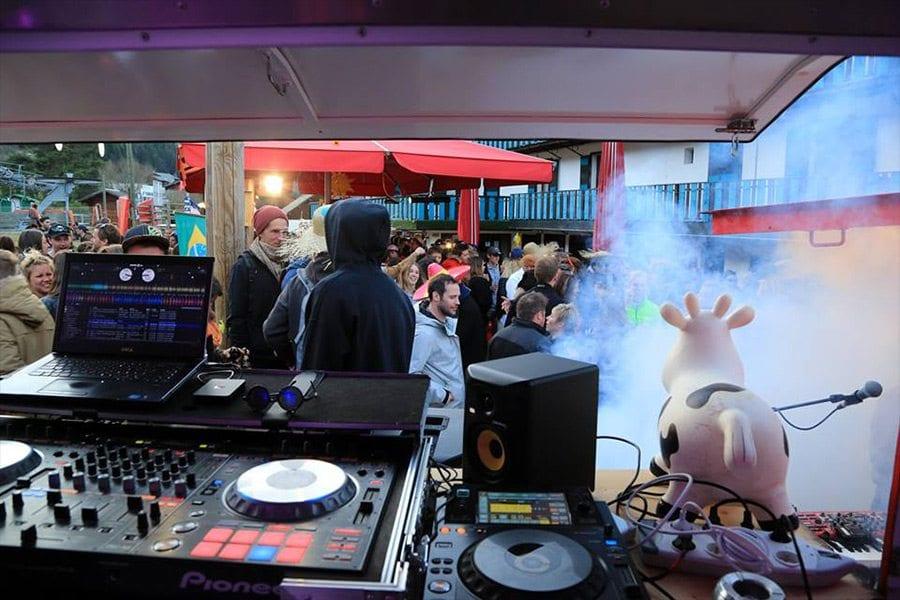 DJ Noumix le tremplin morzine