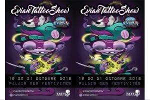 Evian Tattoo Show 2018