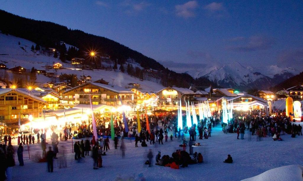Les Gets winter events