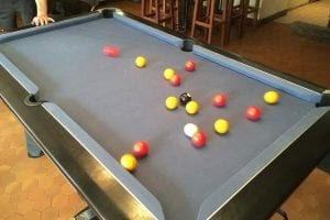 Pool Competition Morzine
