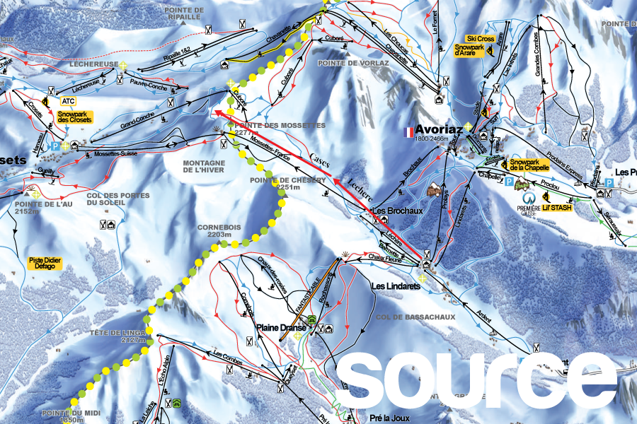 A New Link Between Avoriaz and Les Crosets for Winter 2019 ...